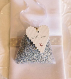 wedding scented bag